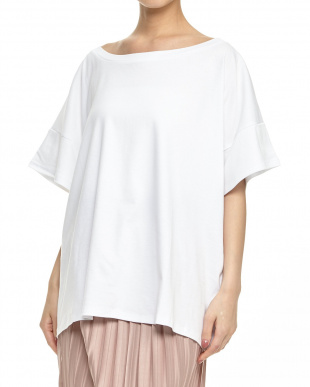 optic white  DOMENICA センターバックロゴTシャツ見る