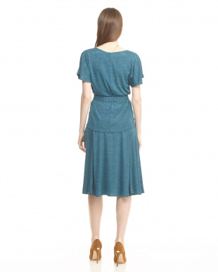 cornflower blue pattern COROLLA トップス+スカート セット見る