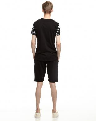 ブラック  Tシャツ&ハーフパンツ セットアップ見る