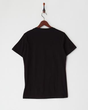 ブラック  ラインストーンドクロTシャツ見る