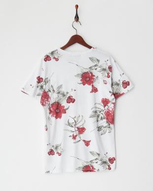 レッドフラワー レッドフラワープリントTシャツ見る