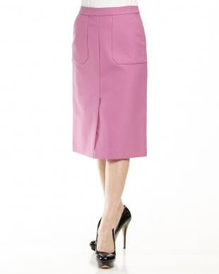 ピンク  TCマエベンツタイトスカート見る