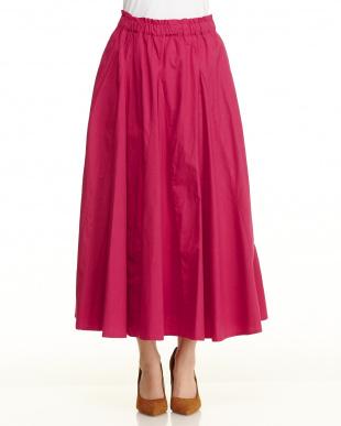 ピンク ボリュームスカート見る