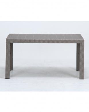 グレー  ステラ テーブル 80×140cm見る