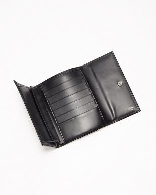 ブラック パンサー三つ折り財布見る