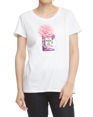 パフューム Tシャツ 3Dフラワー×スパンコール見る