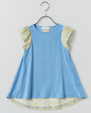 BLUE  バックテイルチュニックTシャツ見る