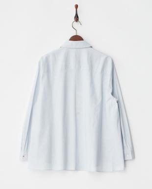 WHITE BAHAMAS ストライプシャツ見る