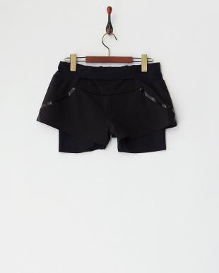 ブラック  インナー付きSPEEDO ショートパンツ|WOMEN見る