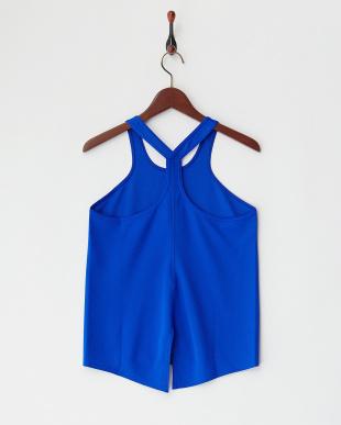 ブルー  HONEYCOMB DRY タンク|WOMEN見る