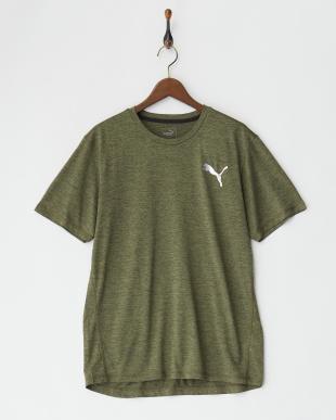 OLIVE NIGHT HEATHER ピュアテック ヘザーTシャツ見る