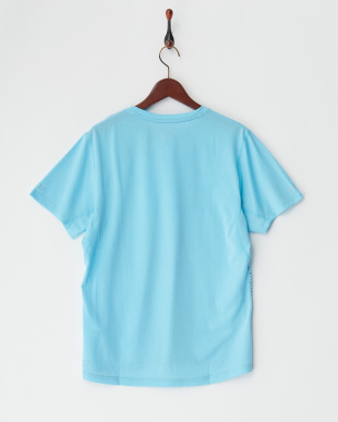 NRGY TURQUOISE  グラデ調デザイングラフィック SS Tシャツ見る