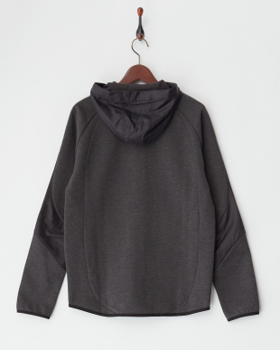DARK GRAY HEATHER  EVOSTRIPE SHIELD フーデッドジャケット見る