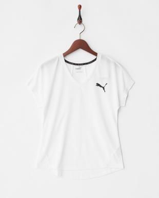 PUMA WHITE  エレベーティド スポーティ Tシャツ見る