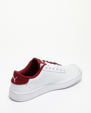 PUMA WHITE-TIBETAN RED コートブレイカー L見る