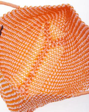 orange  ナイロンカゴトートバッグ見る