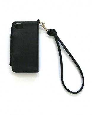 ブラック  フリルiPhoneケース見る