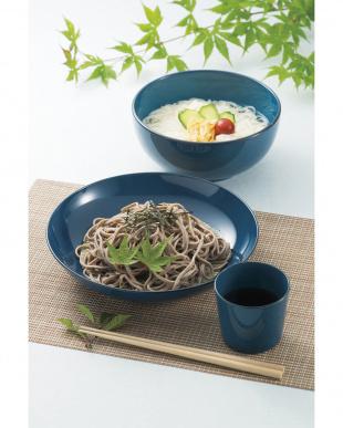 藍彩 麺どんぶり見る