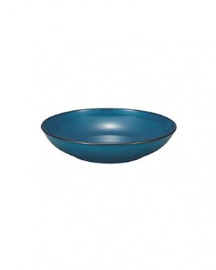藍彩  丸深皿 S 2枚セット見る