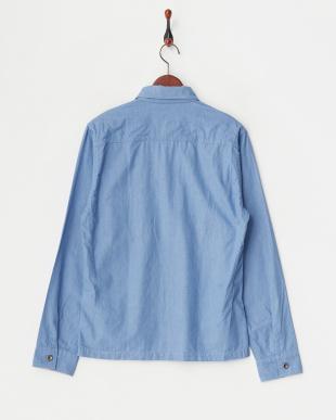 LT.blue ボタンダウン・フラップ・ポケットシャツ見る