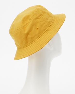 yellow バケットハット見る