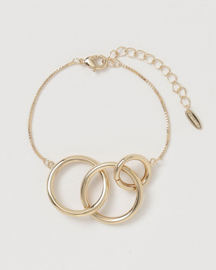 Gold  Ring Bracelet見る
