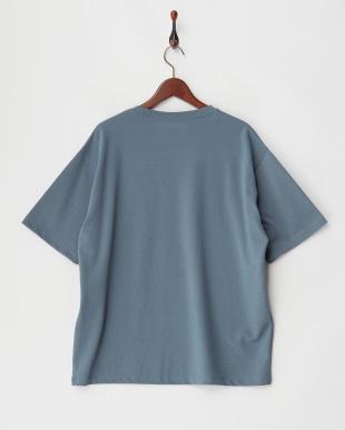BLUE  ポンチポケT(5分袖)見る