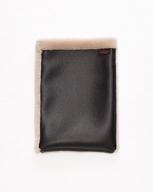 ベージュ 洗える羊毛iPadケース(10.5インチ用)見る