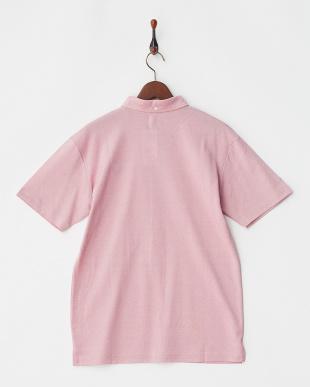 レッド  COOLMAX ロゴ刺繍入り衿ポロシャツ|MEN見る