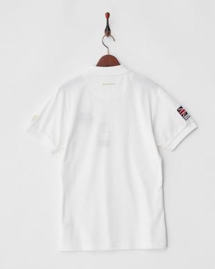 ホワイト  Polygiene STAY FRESH ユニオンジャックワッペンポロシャツ|MEN見る