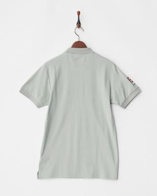 グレー  Polygiene STAY FRESH ユニオンジャックワッペンポロシャツ|MEN見る