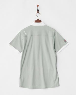 グレー  Polygiene STAY FRESH 配色ポロシャツ|MEN見る