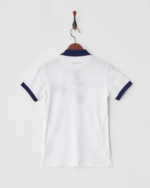 ホワイト  Polygiene STAY FRESH サイドロゴマーク刺繍ポロシャツ|WOMEN見る