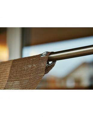 ストライプ 176×180cm はとめタイプ挿し竿対応 日よけすだれ見る