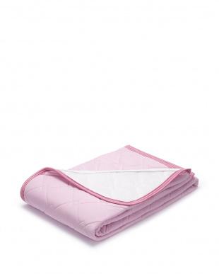 ピンク  クールマジック パッドシーツ シングル見る