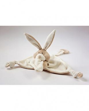 オーガニック・『ウサギ』のニギニギ 木製歯固め付き見る