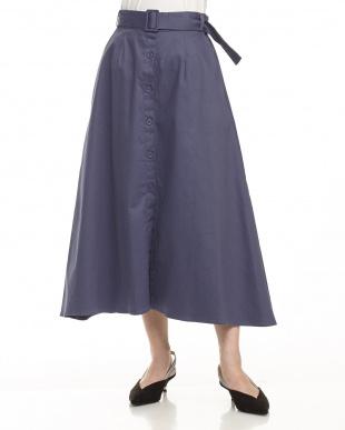 BLUE チノフレアスカート見る