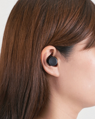 ブラック Bluetooth(R)完全ワイヤレスヘッドホン見る