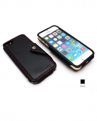 Black  MODERN CLASSIC LEATHER EDITION iPhone SE/5s/5用見る