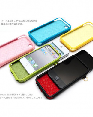 Natural Green  ITALIAN COLORFUL EDITION iPhone SE/5s/5用見る