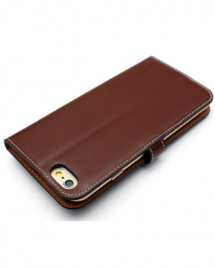 BROWN  LEATHER SLIM FIT EDITION iPhone 6s/6/7/8用見る