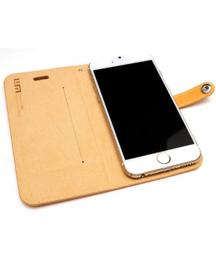 LIGHT BROWN  LEATHER SLIM FIT EDITION iPhone 6s/6/7/8用見る