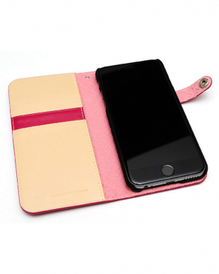 HOT PINK  LEATEHR DIARY EDITION iPhone 6s/6用見る