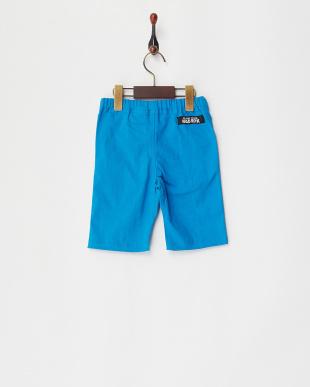 ブルー  クライミング膝上丈パンツ KIDS見る