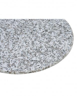 天然石ガーデンテーブル見る
