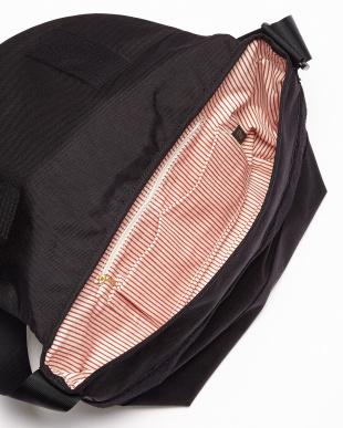 BK(ブラック)  日本製 コーデュラナイロン×栃木レザーショルダーバッグ/メッセンジャーバッグ見る