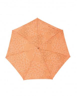 バブルオランジュ  レジェ ワンタッチ軽量スリム傘見る