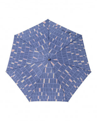 パヴェブルー  レジェ ワンタッチ軽量スリム傘見る
