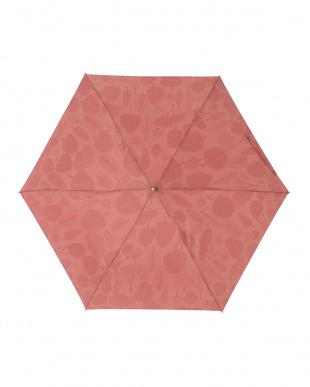 フォレストレッド レジェ フラット折りたたみ傘見る