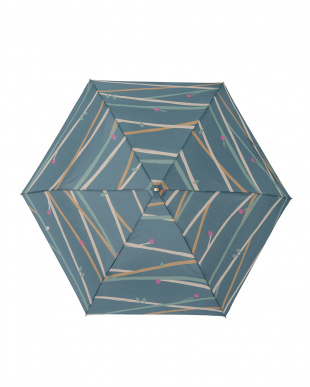 ツイギーフォレストグリーン レジェ フラット折りたたみ傘見る